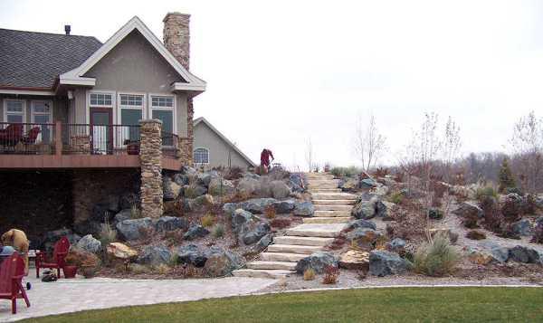landscape boulders - large rocks