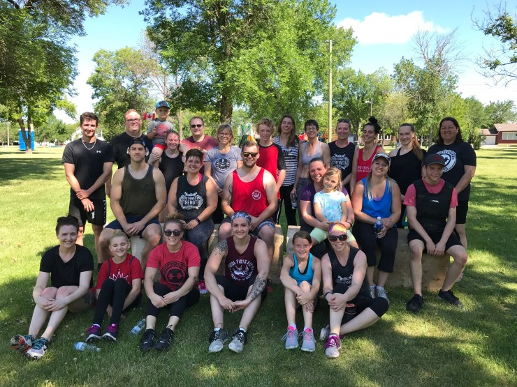 Canada Day Team Workout