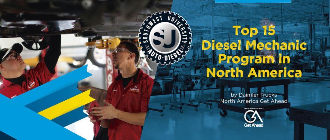 Top 15 Diesel mechanic program by Daimler Trucks