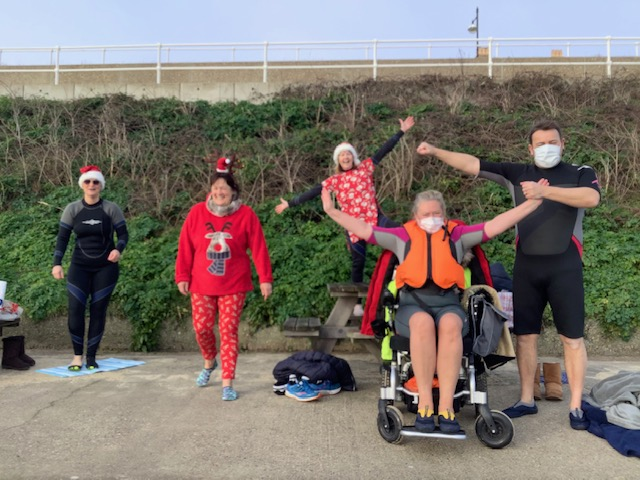 Team Christmas Pud swim a ling long dingdong 2