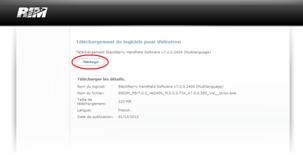 Mise à jour BlackBerry Bold 9900