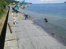 宋徳建設 海洋工事 宮津港港湾侵食対策工事