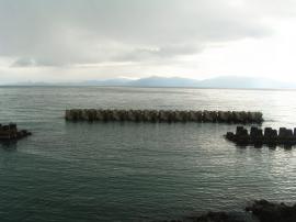 宋徳建設 海洋工事 養老(大島)漁港海岸離岸堤整備工事