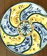 g ceramics plate florence 5