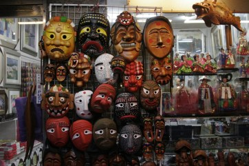 Traditional wooden Korean masks. Insadong (Arts and Crafts District) / http://creativecommons.org/licenses/by/2.0/