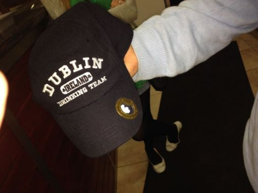 dublin ireland souvenir baseball cap built in bottle opener