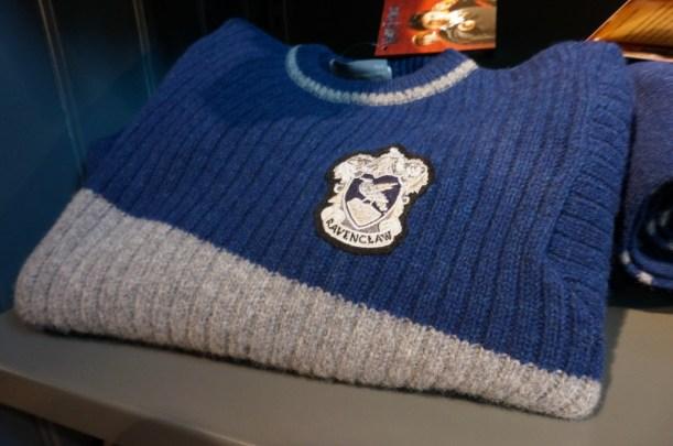 harrry Potter ravenclaw sweater Harry Potter gift souvenir shop Platform 9 3/4 London Kings Cross