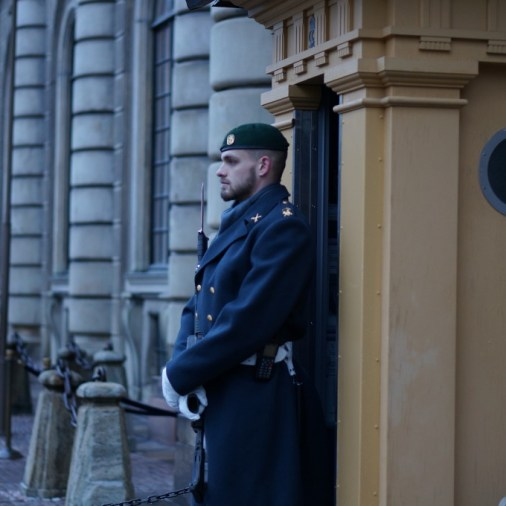 swedish guard stockholm