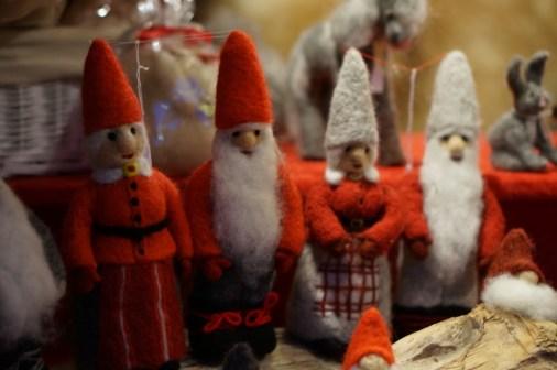 swedish ornaments wool felt