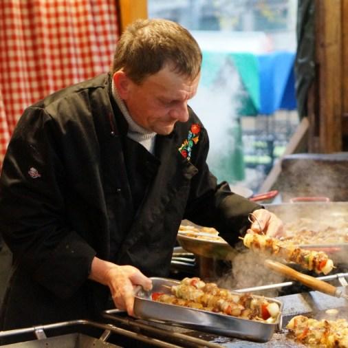 food budapest christmas fair