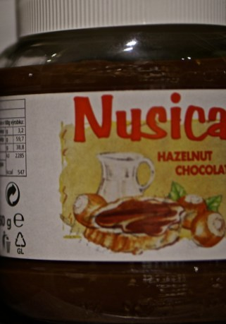 Nusica hazelnut chocolate