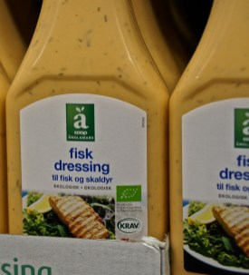 Swedish fisk (fish) dressing
