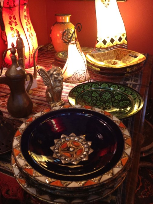 mexican dishes blue