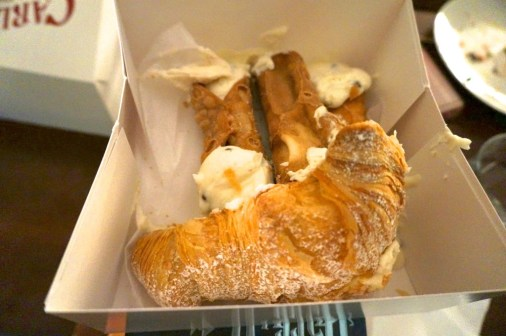 lobster tail and cannoli Carlo's bake shop best