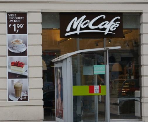 McCafe Vienna cheap cake