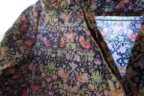 liberty london art fabric shirt souvenir