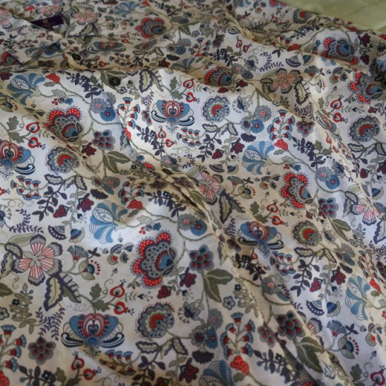 liberty London men's shirt floral design souvenir