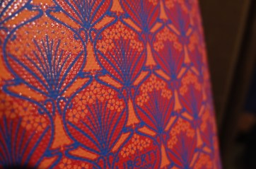 souvenir Liberty London Orange Iphis Ipad case