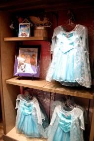 Frozen costumes movie Elsa dress merchandise souvenir Disney world