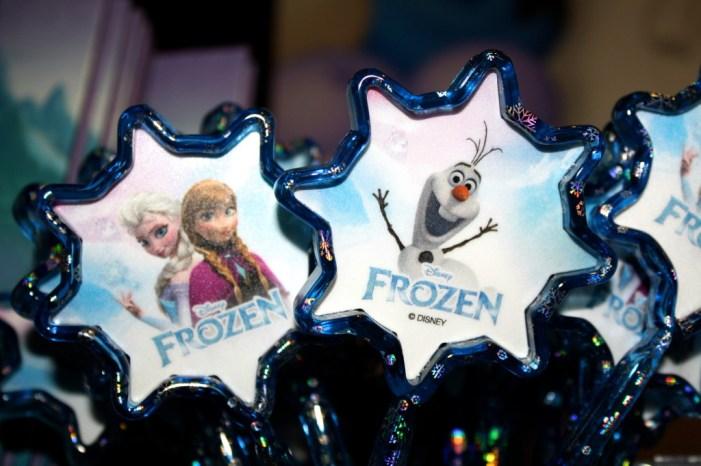 frozen pen olaf elsa gift