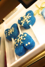Frozen Micky ears with snowflakes