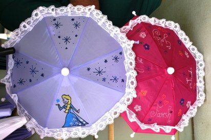Frozen's Elsa merchandise buy disney available parasol umbrella