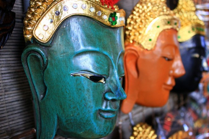 Thai masks - great home decoration
