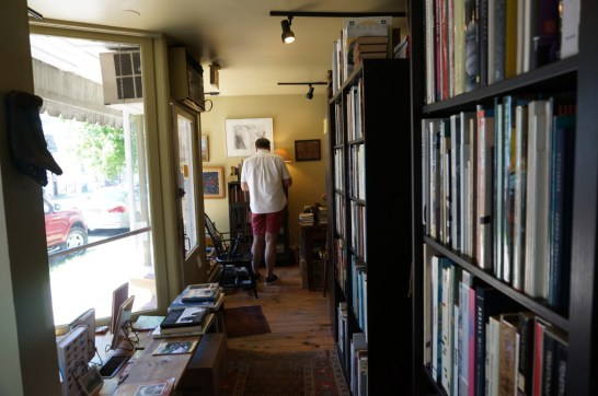Lambertville NJ day trip book store panapoly