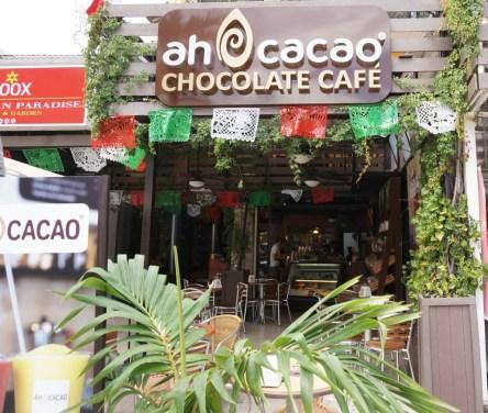 ah cacao chocolate cafe playa del carmen mexico