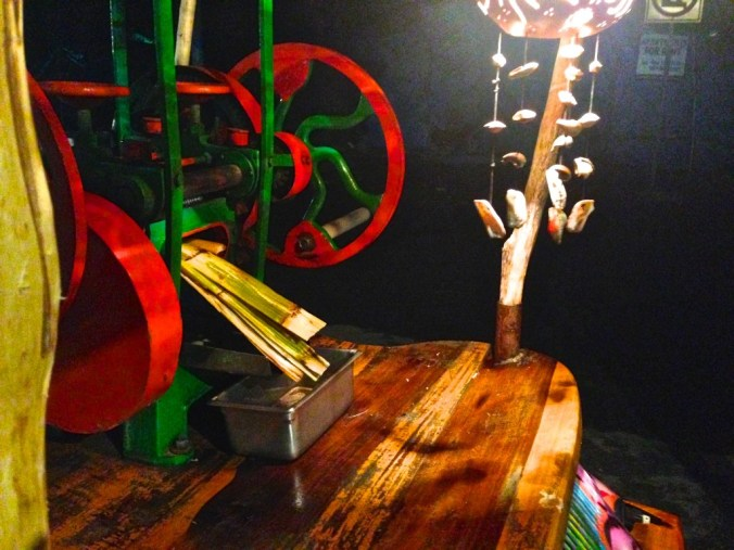 Batey's sugar cane press machine (in Tulum's town).