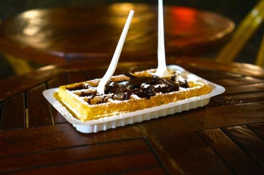 belgian waffle brussels liege