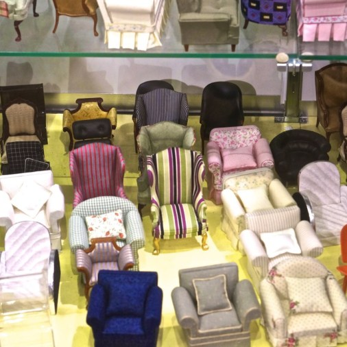 FAO Schwartz NYC toys kids doll house furnishing chair