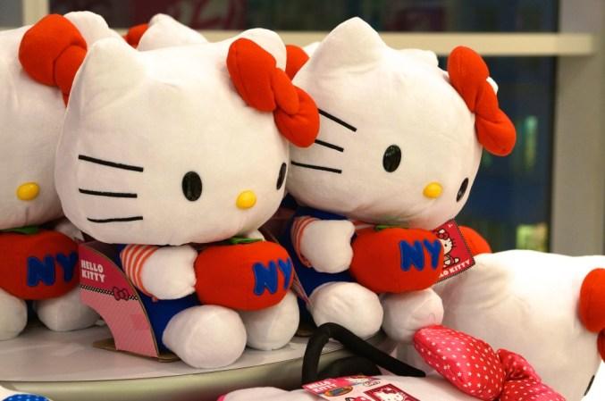 FAO Schwartz NYC toys kids hello kitty plush stuffed animal