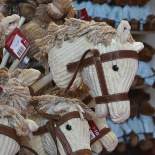 FAO Schwartz NYC toys kids plush stuffed animal hobby horse