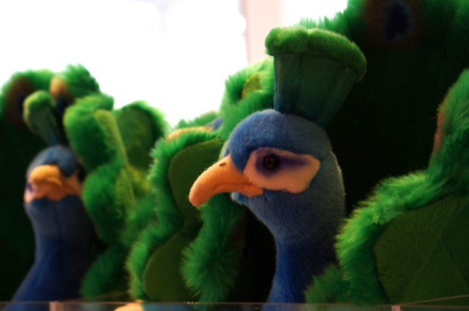 FAO Schwarz unique gift ideas kids peacock stuffed animal nyc popular