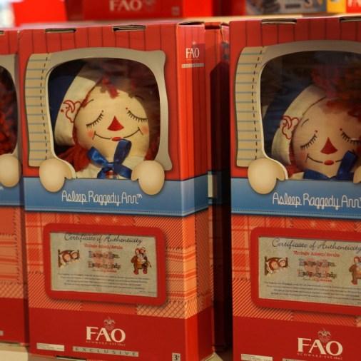 fao schwarz dolls popular gift christmas holiday