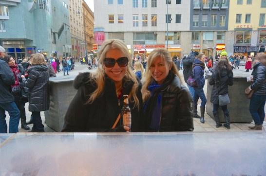 Stephansplatz Christmas Market Vienna Austria kristin linda