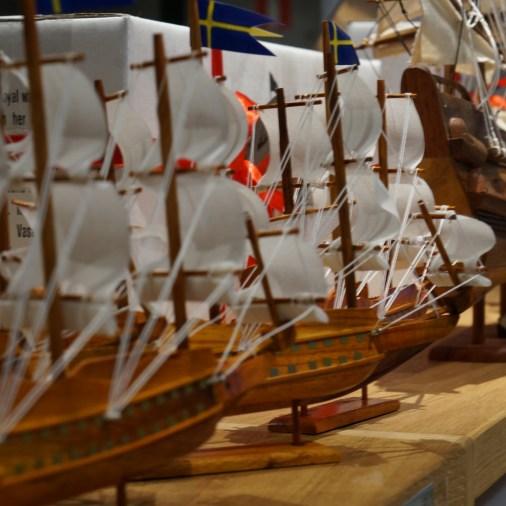 Vasa model ship souvenir (Vasa Museum Gift Shop, Stockholm, Sweden),