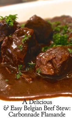 Belgian Beef Stew With Beer Carbonnade Flamande