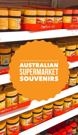Shop Australian Supermarket For Travel Souvenirs