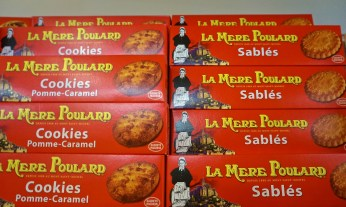 French Supermarket Souvenir Monoprix Box Cookies