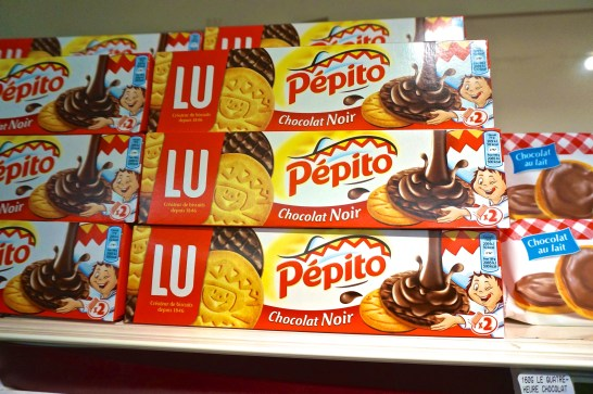 French Supermarket Souvenir Monoprix Cookies Lu Pepito