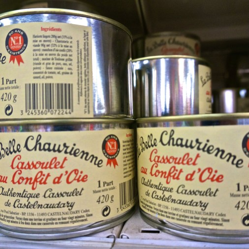 French Supermarket Souvenir Monoprix Cassoulet