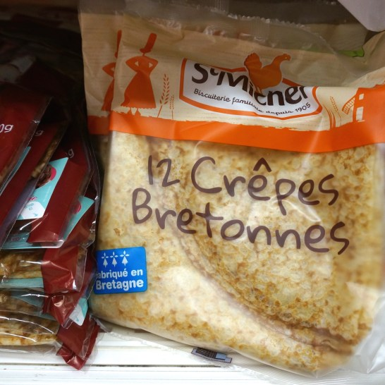French Supermarket Souvenir Monoprix Packaged Crepes