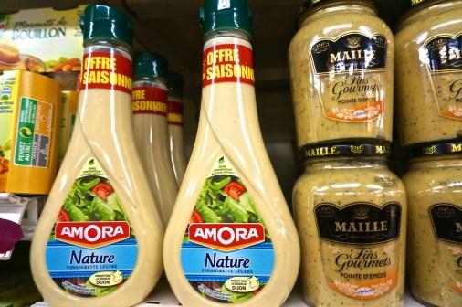 French Supermarket Souvenir Monoprix Paris Dressing