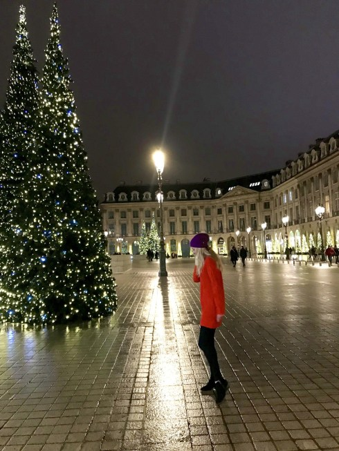 Place Vendome is one of my favorite squares in Paris.