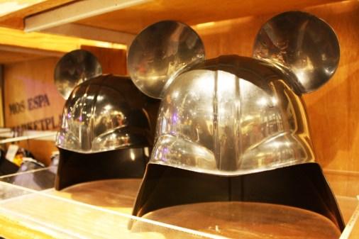 Mickey ears on a stormtrooper helmet. Walt Disney World, Orlando.