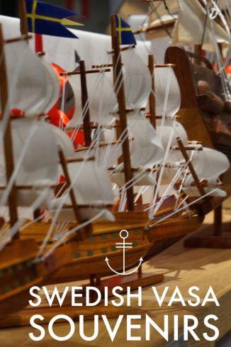 Model Ship Vasa Musuem Stockholm Sweden Travel Souvenir