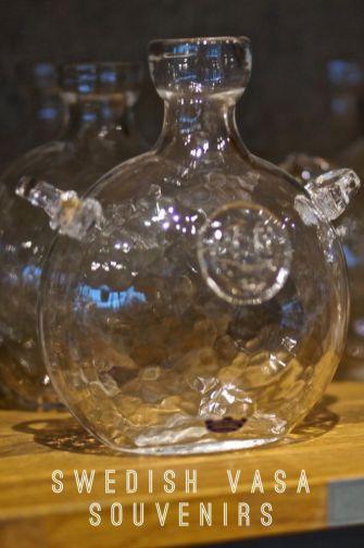 Swedish Glass Jug Vasa Musuem Stockholm Sweden Travel Souvenir