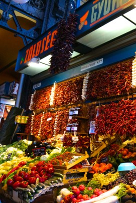 Budapest Central Market Hall Souvenirs Hungarian Market Stall